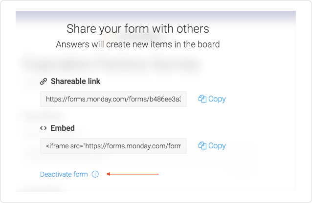 Forms! Powered by monday com :) – Hey  Ask us anything!